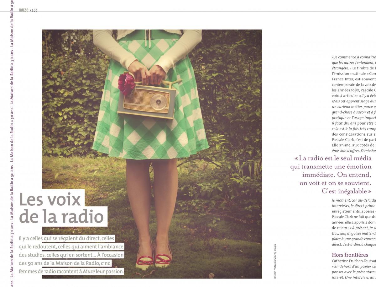 Les voix de la radio - Magazine Muze 2014